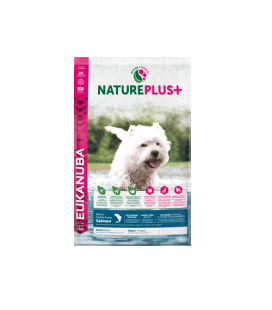 Nature Plus+ Adult Small Salmón