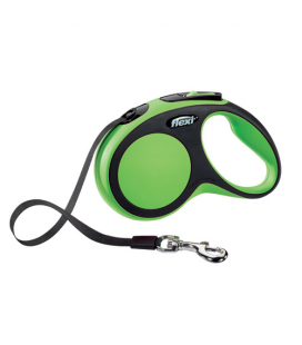 Correa Extensible Flexi Confort Color Verde para Perro