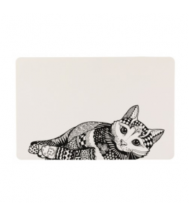 Salvamanteles Zentangle para Gato (1)