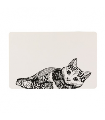 Trixie-Salvamanteles Zentangle para Gato (1)