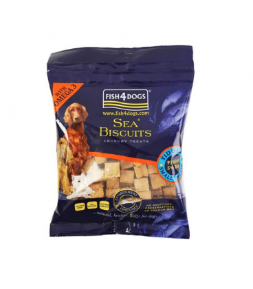 Fish4Dogs-Sea Biscuits Tiddlers para Perros (1)