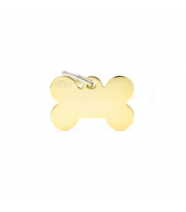 Bone Small Gold Brass (1)