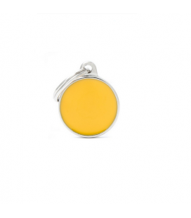 Basic Handmade Circle Small Yellow (1)
