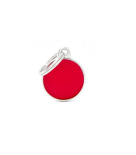Basic Handmade Circle Small Red (1)