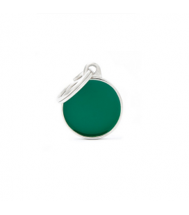 Basic Handmade Circle Small Green (1)