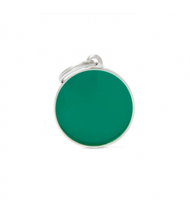 Basic Handmade Circle Big Green (1)