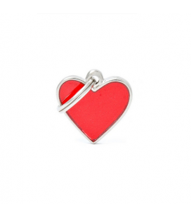 Heart Small Reflective Red (1)