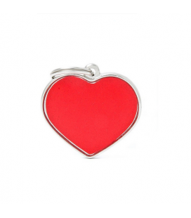 Big Heart Reflective Red (1)