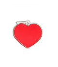My Family-Big Heart Reflective Red (1)