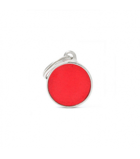Small Circle Reflective Red (6)