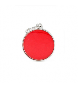 Big Circle Reflective Red (1)