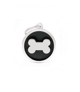 Black Big Circle Bone