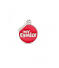 My Family-Classic Circle Small Logo Central Red (1)