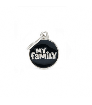 My Family-Classic Circle Small Logo Central Black (1)