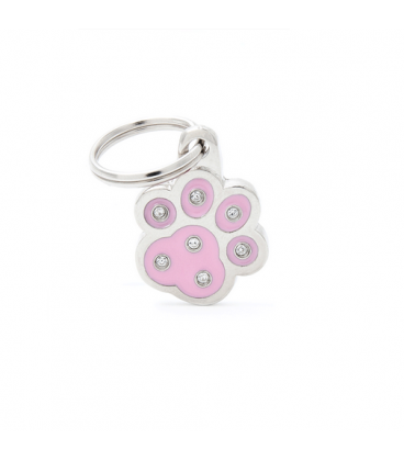 My Family-Paw Strass Pink (1)