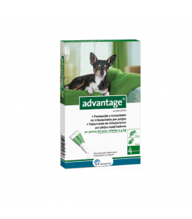 Advantage Pipette Antipulci Cane da 0-4Kg (6)