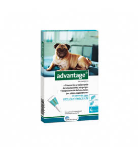 Advantage Pipette Antipulci Cane di 4-10Kg (6)