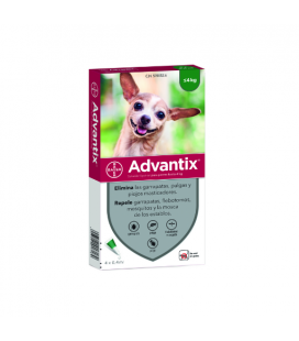 Advantix 0-4 KG Pipetas Triple Protección