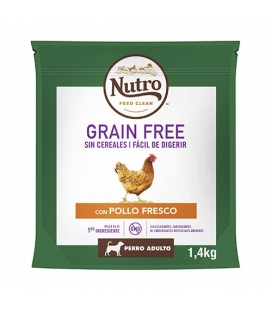 Feed Clean Adulto Razas Medianas Pollo Grain Free