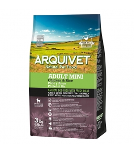 Arquivet Adult Mini / Pollo y Arroz Natural Dog Food