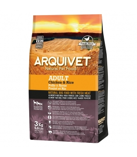 Arquivet Adult / Pollo y Arroz Natural Dog Food