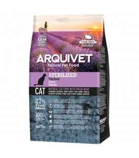 Arquivet Arquivet Cat Sterilized Turkey Natural Cat Food