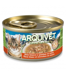 Arquivet Atún Blanco en salsa con Gambas Cat Wet Food
