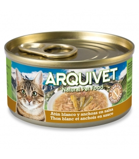 Arquivet Atún Blanco en salsa con Anchoas Cat Wet Food