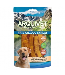 Arquivet Pollo con patata dulce Natural Dog Snacks