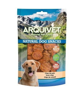 Arquivet Chips de pato Natural Dog Snacks