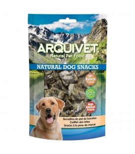 Arquivet Bocaditos de piel de bacalao Natural Dog Snacks