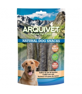 Arquivet Rollitos de piel de bacalao Natural Dog Snacks