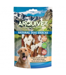Arquivet Huesitos de pato con calcio - 100gr Natural Dog Snacks