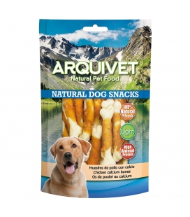 Arquivet Huesitos de pollo con calcio Natural Dog Snacks