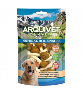 Arquivet Muslitos de pollo con calcio Natural Dog Snacks