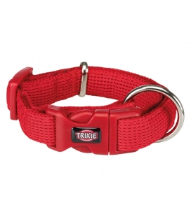 Trixie Collar Comfort Soft, S–M, 30–45 cm/25 mm, Rojo