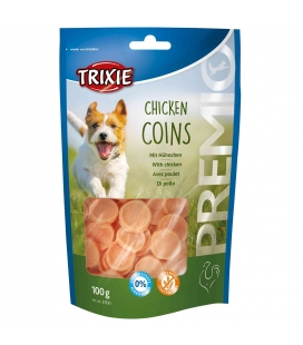 Trixie Snack PREMIO Chicken Coins, 100 g