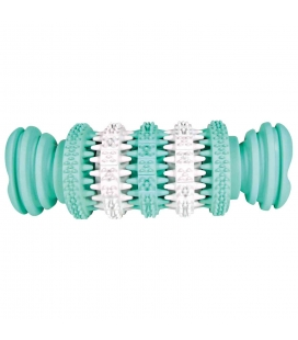 Trixie Hueso Denta Fun, Menta, Caucho Natural, 15 cm