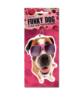 Magnet & Steel Ambientador Funky Dog Air Fresh, Cereza, MAGNET & STEEL