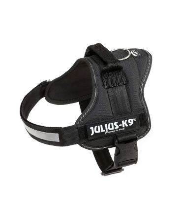 Julius-k9 Arnés Julius-K9 Power, 0/M–L, 58–76 cm/40 mm, Negro