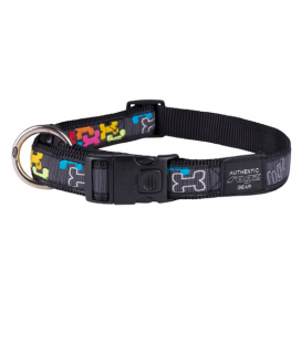 Rogz Collar estampado MULTI BONE