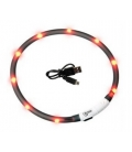 Flamingo-Collar Luz Led para Gato Colores Variados (3)