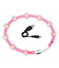 Flamingo-Collar Luz Led para Gato Colores Variados (4)